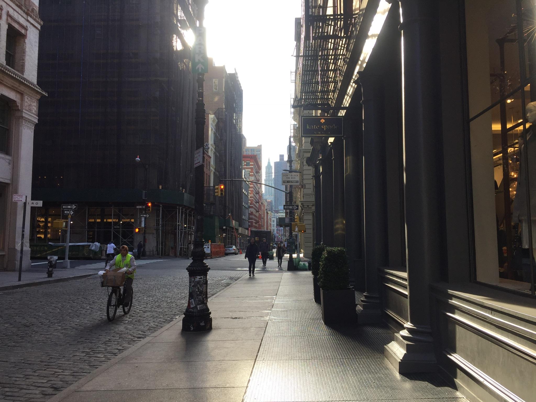 El sueño de Manhattan (contrahílo)